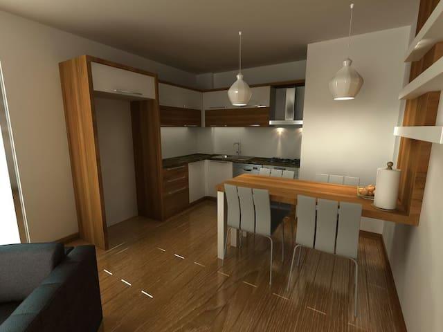 New apartments with pool right at Konyaalti Beach - Altınkum Mahallesi