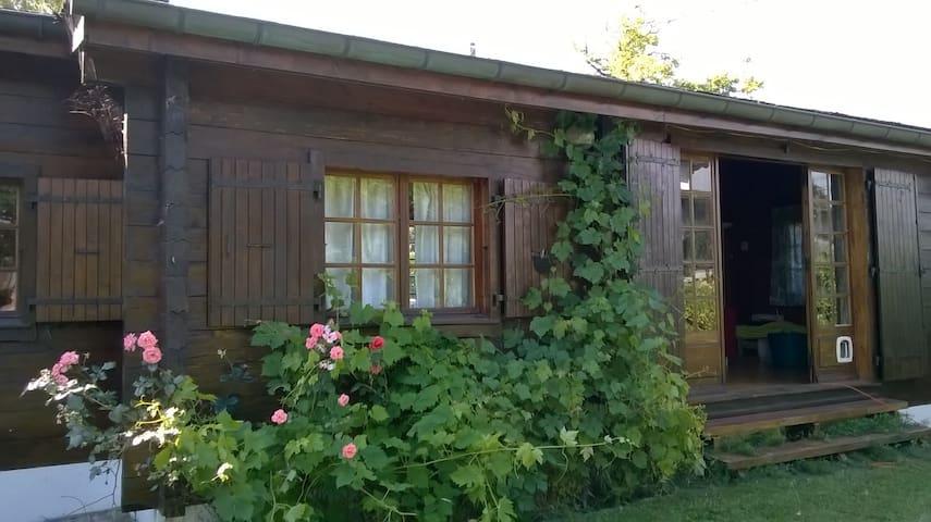 Cosy Wooden Chalet by Geneva Lake - Nernier - Dom