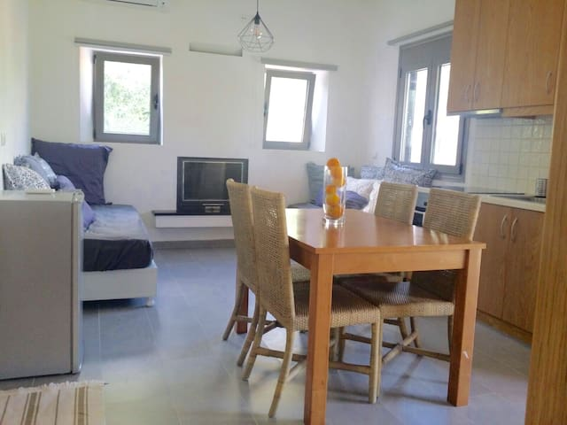 New comfortable 1bedroom apartment - Καϊάφας - Appartamento
