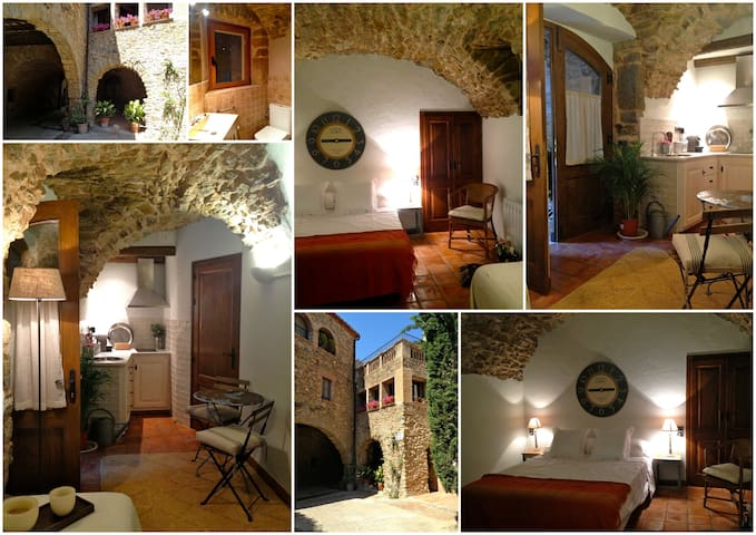 Charming studio apartment - Monells - Pis