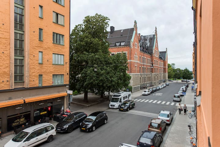 Cozy 23 m2 Studio in Vasastan - Estocolmo - Departamento
