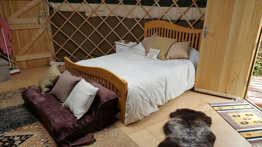 Large insulated yurt - Cawsand - Yourte