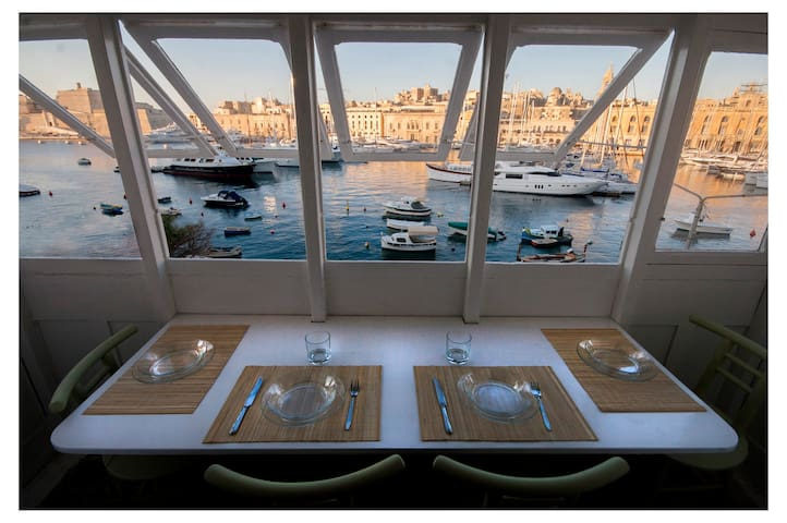 THE-BEST-SEA-VIEW 3'ferrytoValletta - Senglea - Departamento