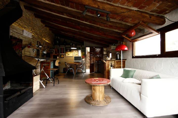 Loft en entorno rural - Vilafreser