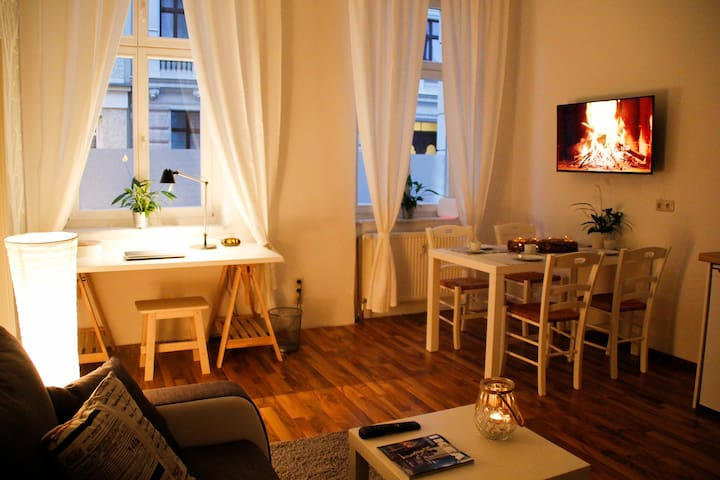 Very central apartment, cosy, downtown, modern,new - Maagdenburg - Appartement
