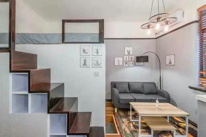 Lane House Studio Loft 现代温馨复式公寓 - Shanghai