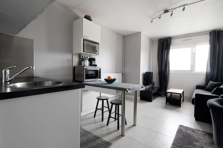 Studio vue s/ mer, piscine + tennis - Châtelaillon-Plage - Lägenhet