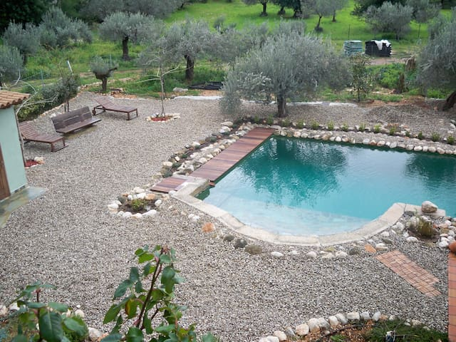 Beautiful Eco Country-style House with Pool! - Galataki - Lyxvåning