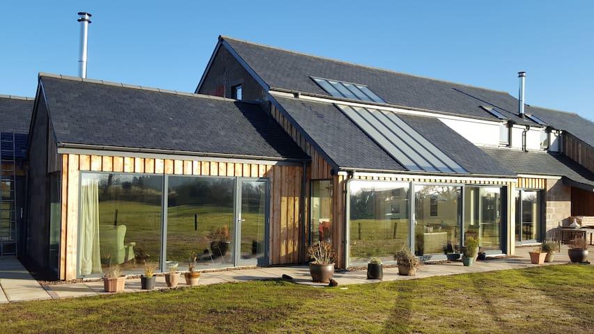 Contemporary accommodation close to Duns Castle - Scottish Borders - Oda + Kahvaltı