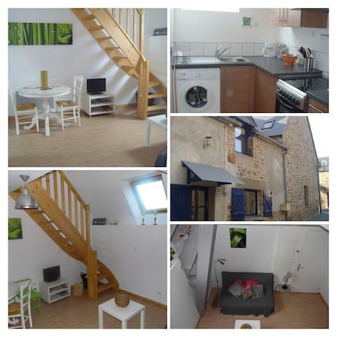 Duplex dans village de pêcheur  20 mn Mt St Michel - Le Vivier-sur-Mer - Appartement