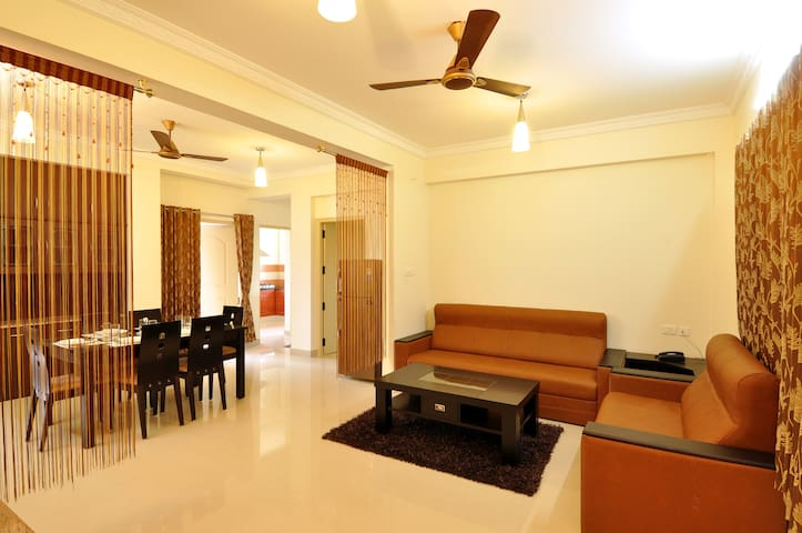 Guestline Service Apartments - Coimbatore - Appartement