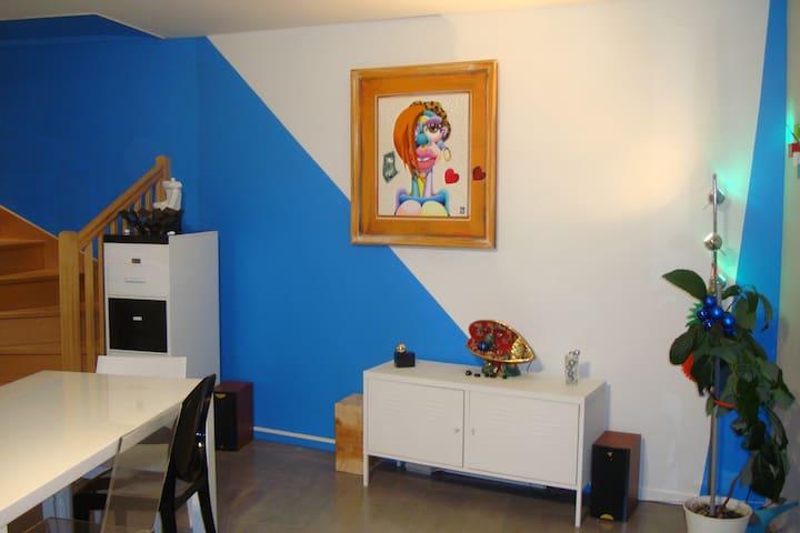 DUPLEX design contemporain - Lyon - Loft