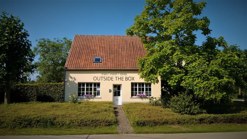 B&B Outside The Box - sport & relax in the nature - Lille - Bed & Breakfast