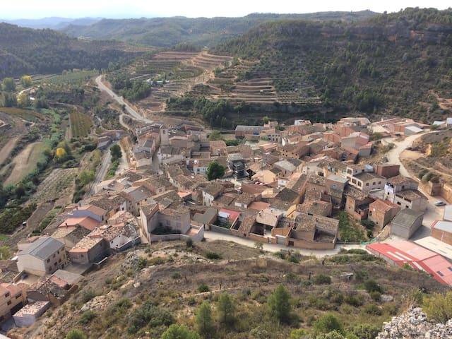 Maison de village proche de Margalef - La Bisbal de Falset - Appartement