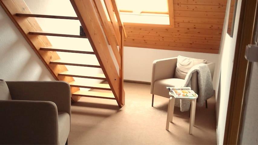 Schöne Dach Wohnung 5 Min Zentrum - Wangen im Allgäu - Leilighet