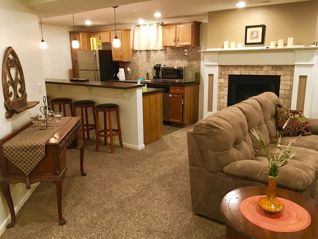 Comfortable Apartment in North/Central Omaha - オマハ - アパート