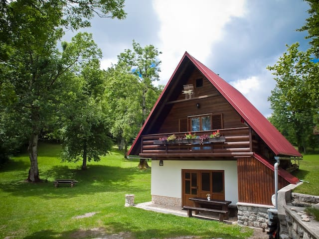 House Gale - Sunny, family friendly house - Delnice - กระท่อมบนภูเขา