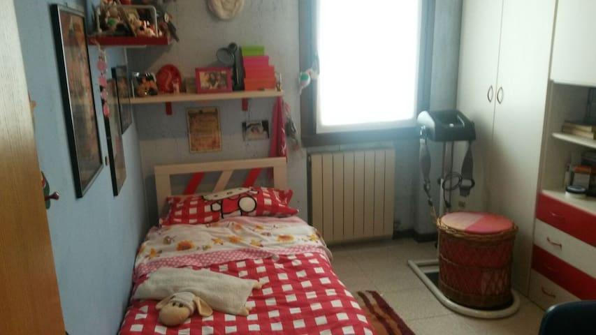 camera singola rosa - Darfo Boario Terme - Bed & Breakfast