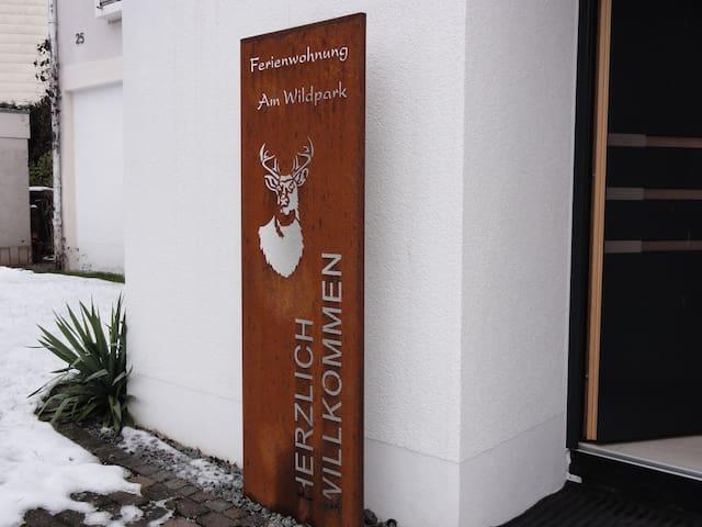 """Ferienwohnung """"am Wildpark"""" HDH - Heidenheim an der Brenz - Appartement"""