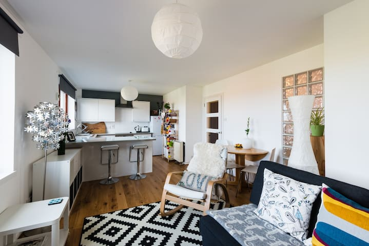 Bright, Beach Apartment - Findhorn  - Daire