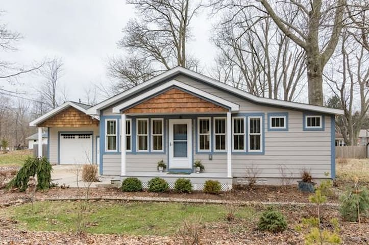 Big Lake Country Cottage - South Haven - Casa