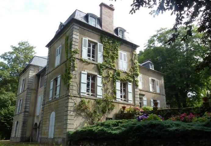 """Chambre """"Chaumeçon"""" - La Grande Maison du Morvan - Saint-Martin-du-Puy"""