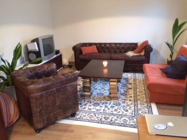 1 Sunny Bedroom +70m2 apartment in North Bonnevoie - Luxembourg - Leilighet