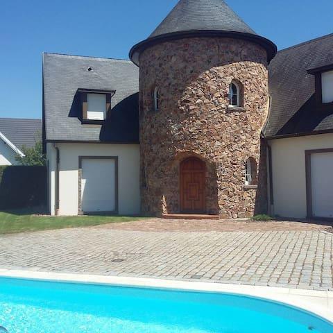 Le Domaine du Castel - Swimming pool & Spa - Kertzfeld - Vila