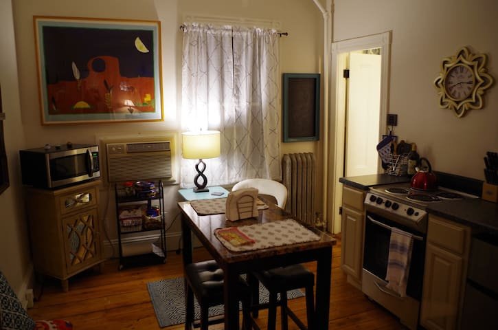 Beautiful 1-bed Gem near Downtown - Providence - Daire
