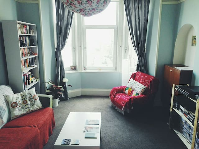 Spacious Room in Glasgow's East End - Glasgow - Apartemen
