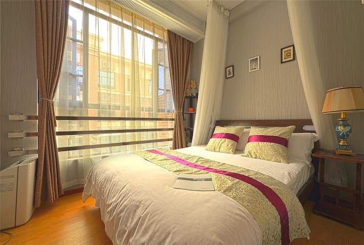 double bedrooms,near metro line2 - Canton - Appartement