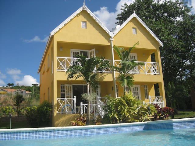 6 Ajoupa Villas - Fitts Village - Villa