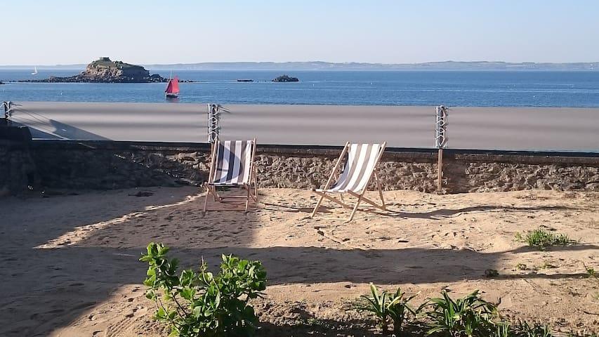 Direct access to the beach - Douarnenez - Leilighet
