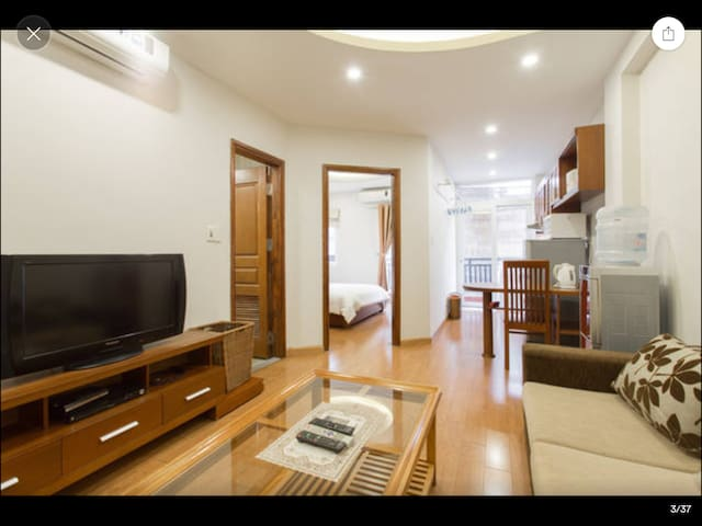 L502 Palmo Serviced Apartment 1BR - Free Laundry - Liễu Giai