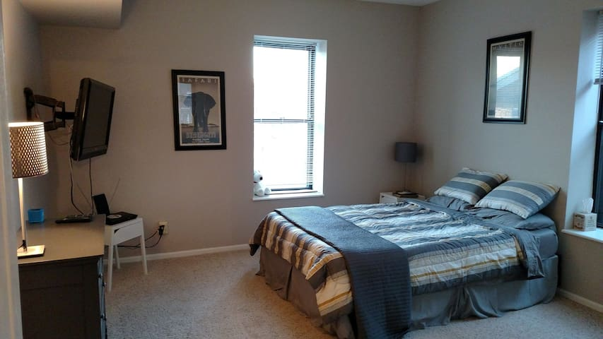 Private bed and bath near Wash U and Forest Park - St. Louis - Daire