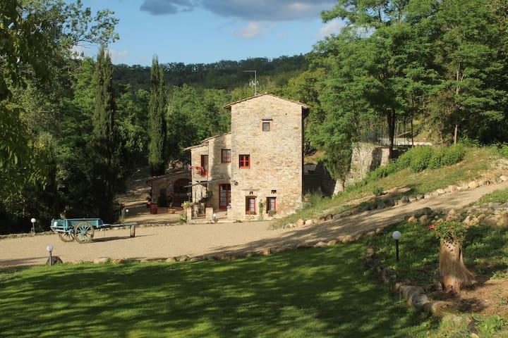 Appartamento nel Chianti al Mulino dell'Argenna - Barberino Val D'elsa - Apartamento