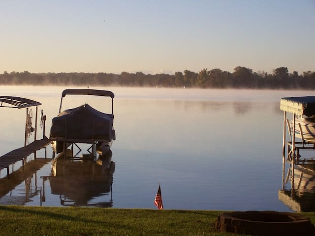 Lakefront Home: A Magical Michigan Getaway - Novi - Semesterboende