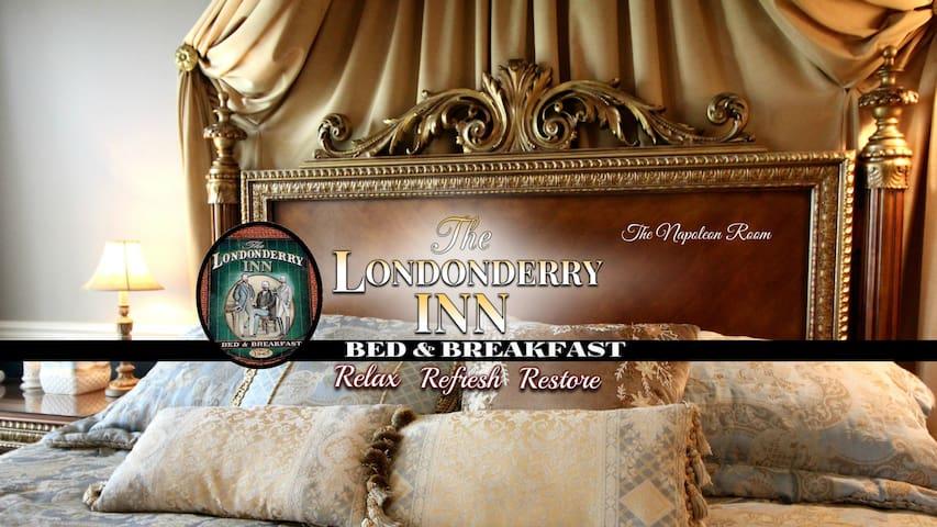 THE LONDONDERRY INN B&B's Napoleon Room - Palmyra