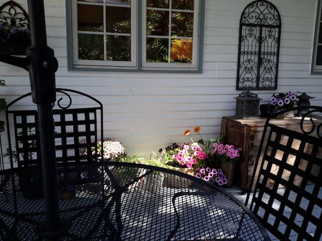 Island Getaway! Oceanview Victorian Mini Mansion - Swartz Bay - Casa