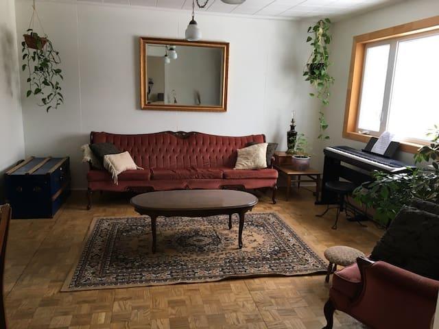 Chaleureuse maisonnée dans le Kamouraska! - Sainte-Hélène-de-Kamouraska - Appartement