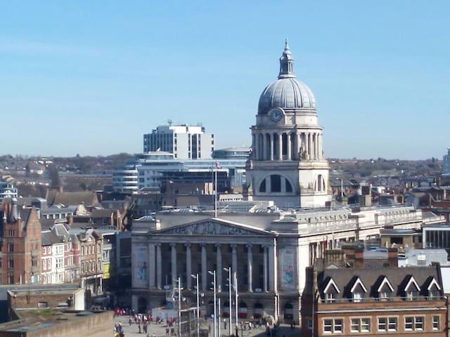 Double room in the city centre - Nottingham - Leilighet