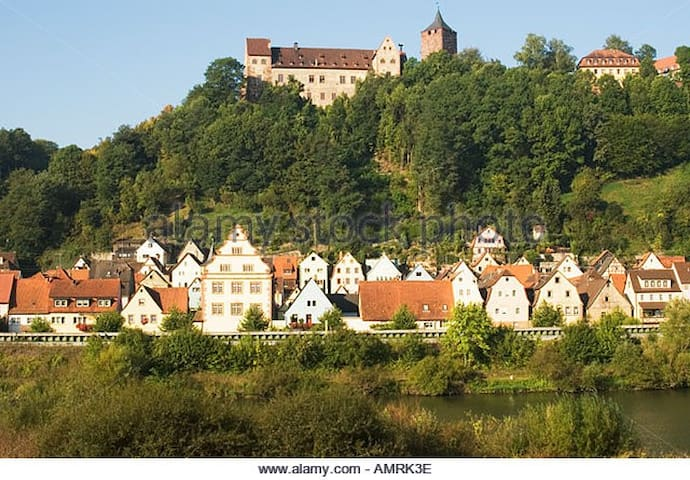 Picturesque, family friendly house - Rothenfels - Casa