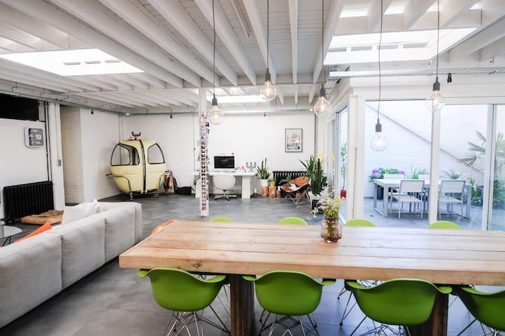 Sunny loft near city centre in a green environment - Leuven - Apartment