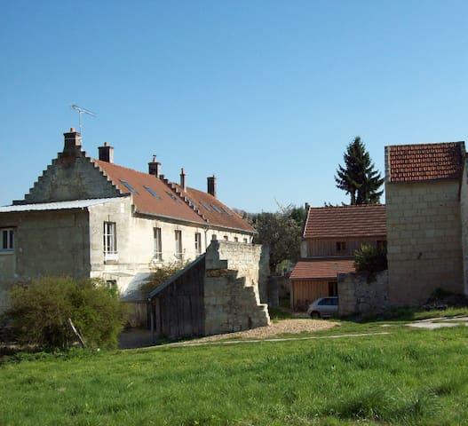 Les pas de moineaux - Cœuvres-et-Valsery - Apartemen