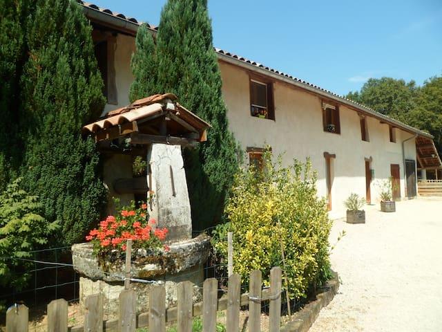 le paradis vert - Pirajoux - Casa de huéspedes