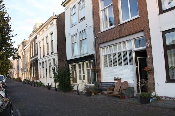 Nice apartment in the old city near to the harbour - Dordrecht - Daire