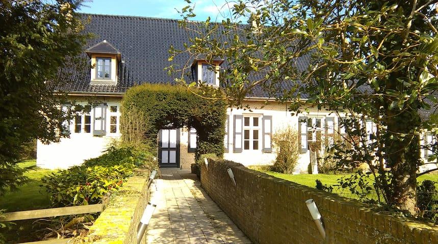 Chambres d'hôtes charme Domaine des Hautes Terres - Steene - Rumah Tamu