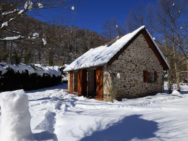 Maison en pierre - Vallée d'Ustou - Guzet - Ustou - Casa