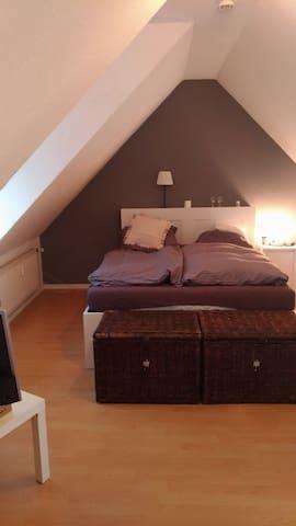 10 Min. Fuss zum Kalkberg! Schöne 50qm² Maisonette - Bad Segeberg - Appartement