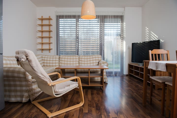 Beautiful apartment with terrace and garden - Praga
